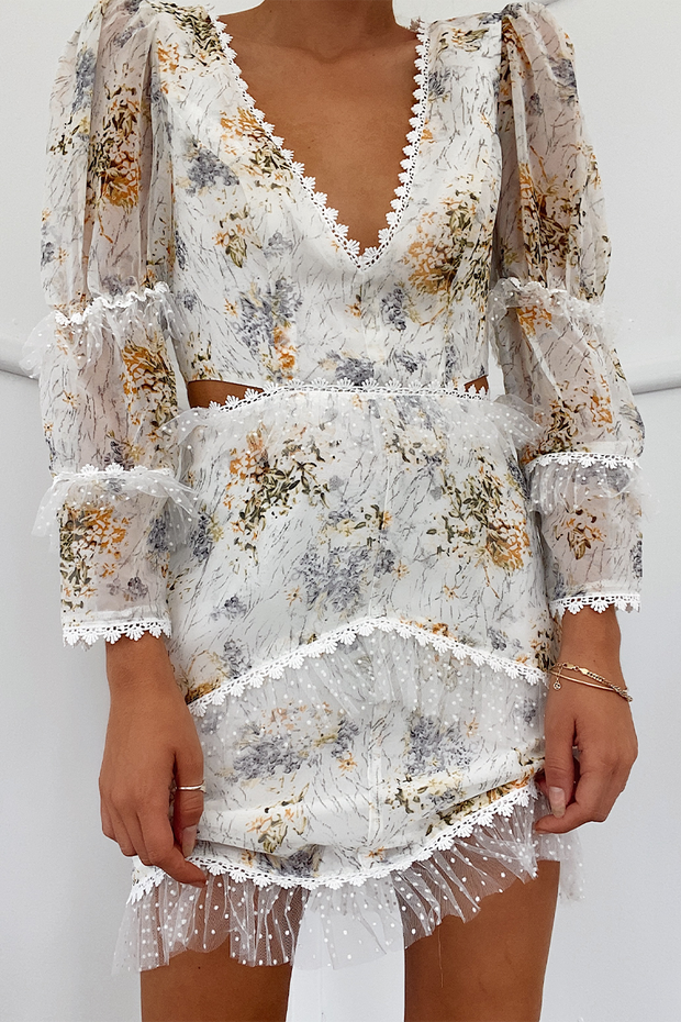 Savannah Dress - Floral - SHOPJAUS - JAUS