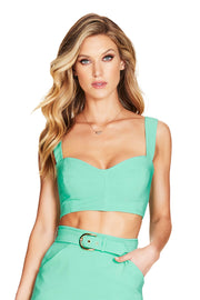 Nookie Wink Crop - Mint - SHOPJAUS - JAUS