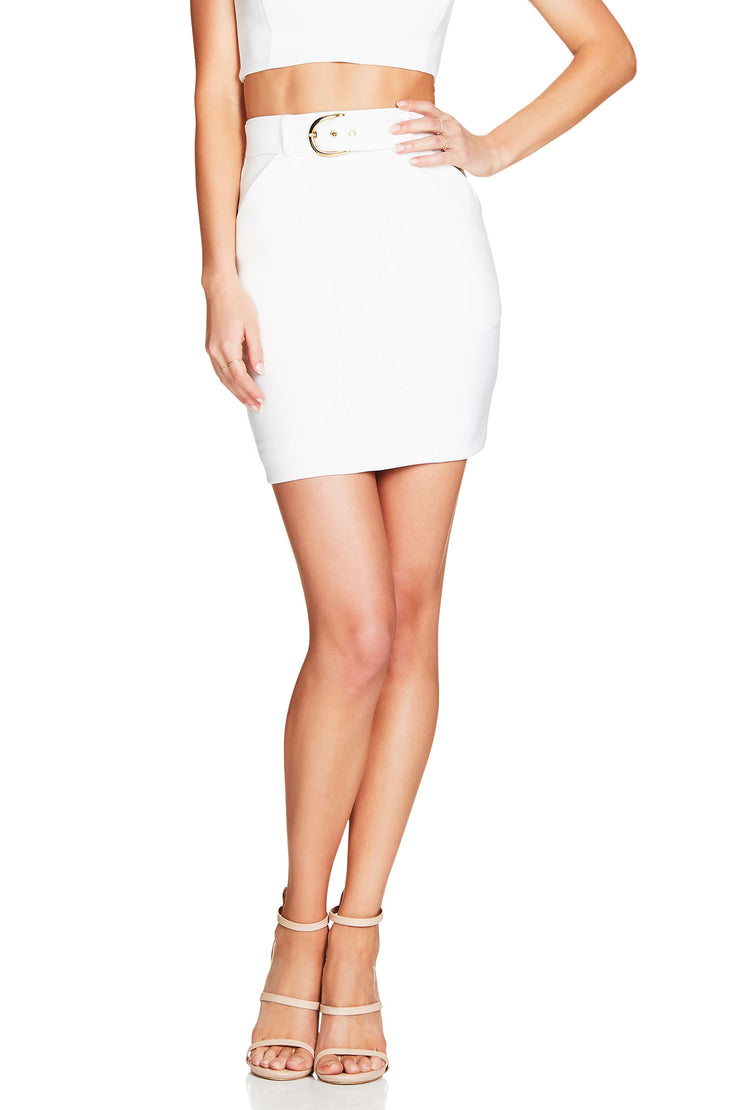 Nookie Wink Skirt - Ivory