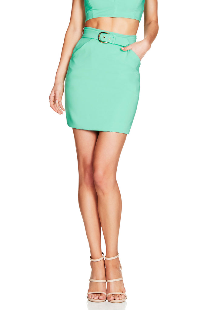 Nookie Wink Skirt - Mint