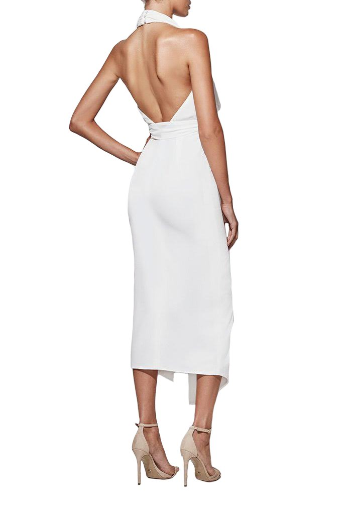 Misha Collection Lorena Dress - White - SHOPJAUS - JAUS