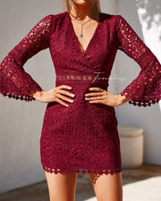 Brooklyn Dress - Red - SHOPJAUS - JAUS