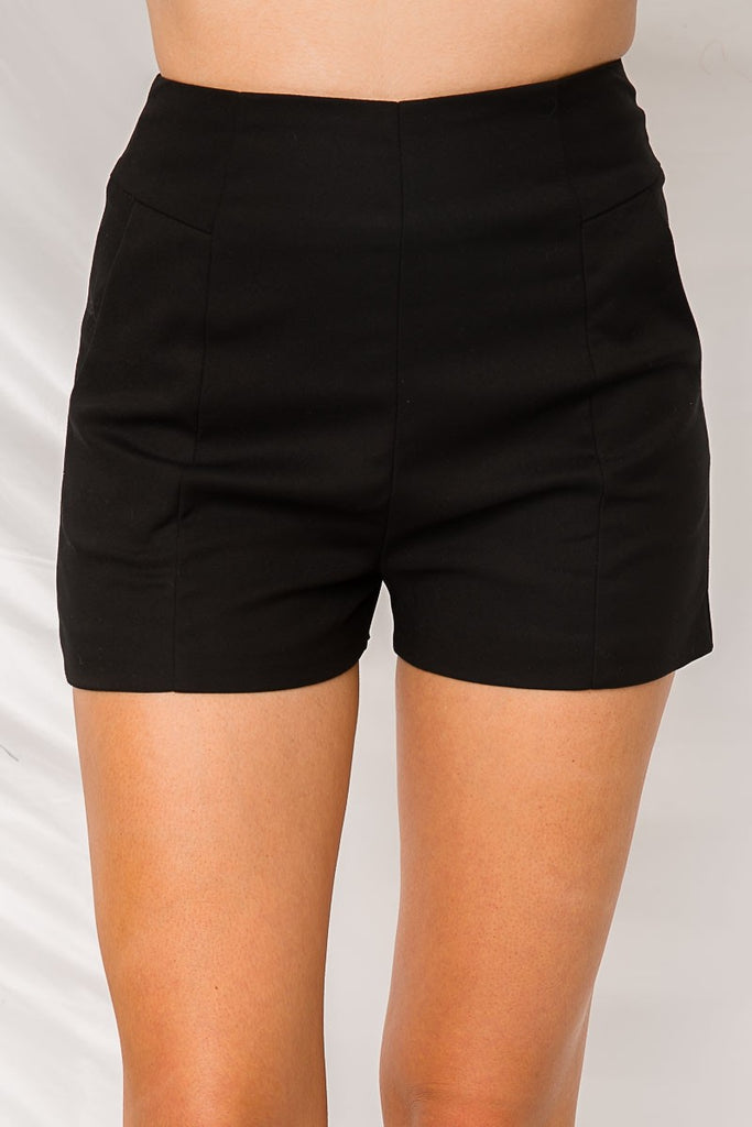Brooklyn Shorts - Black - SHOPJAUS - JAUS