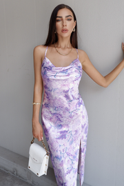 Holly Slip Dress -  Lilac Floral
