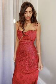 Candice Slip Dress - Spot - SHOPJAUS - JAUS