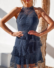 Carina Dress - Steel Blue - SHOPJAUS - JAUS