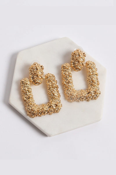 Caya Earrings - Gold - SHOPJAUS - JAUS