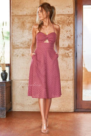 Charlotte Dress - Mauve - SHOPJAUS - JAUS