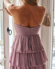 Daisy Dress - Purple - SHOPJAUS - JAUS
