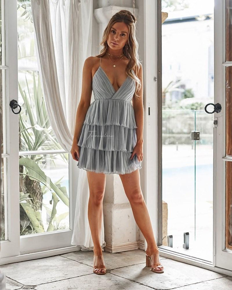 Daisy Dress - Sage - SHOPJAUS - JAUS