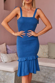 Dallas Dress - Blue - SHOPJAUS - JAUS