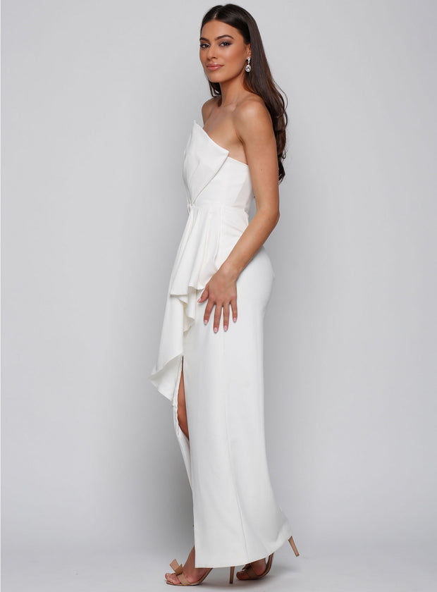 Stellina Dress - Ivory - SHOPJAUS - JAUS