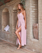 Delaney Jumpsuit - Pink - SHOPJAUS - JAUS