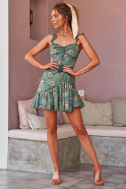 Demi Dress - Green - SHOPJAUS - JAUS