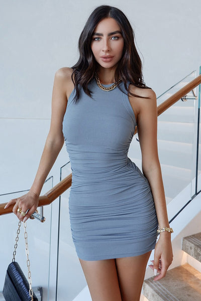 Essence Dress - Steel