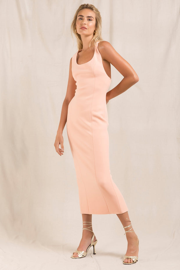 Misha Collection Draya Dress - Coral