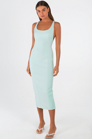 Misha Collection Draya Dress - Mint - SHOPJAUS - JAUS