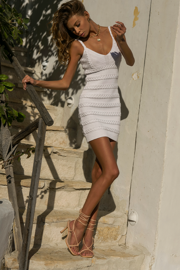 Jetsetter Mini Dress - White