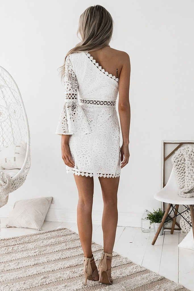 Elysian Dress - White (PREORDER) - SHOPJAUS - JAUS