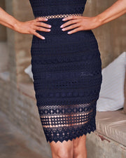 Erin Dress - Navy - SHOPJAUS - JAUS