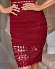 Erin Dress - Red - SHOPJAUS - JAUS
