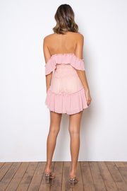 Dreamer Mini Dress - Blush