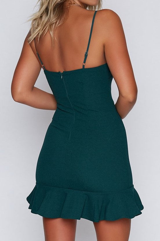Banks Dress - Forest Green - SHOPJAUS - JAUS