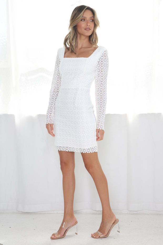 Emerie Dress - White