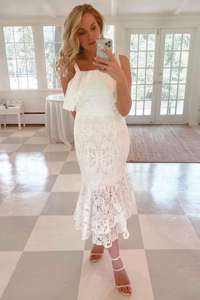 Mallory Dress - White