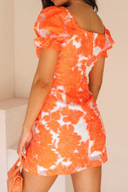 Essie Dress - Orange - SHOPJAUS - JAUS