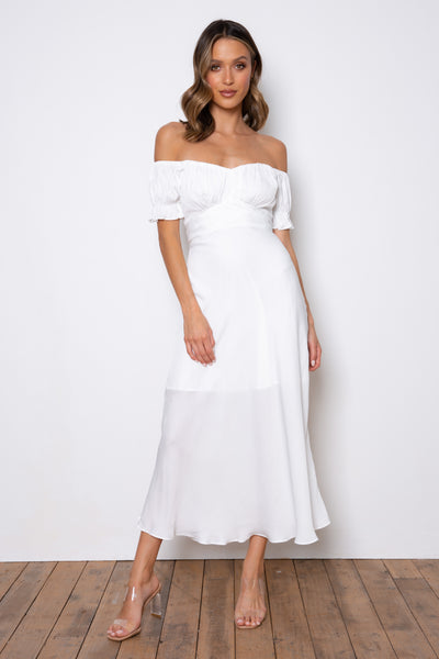 Samantha Dress - White