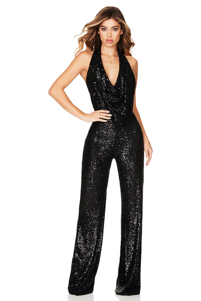 Nookie Fantasy Jumpsuit - Black - SHOPJAUS - JAUS