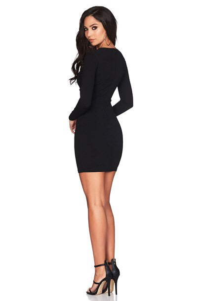 Nookie Alessandra Mini Dress - Black - SHOPJAUS - JAUS