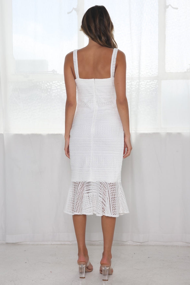 Diana Dress - White