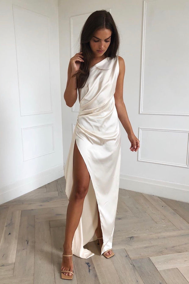 Samira Dress - Ivory - SHOPJAUS - JAUS