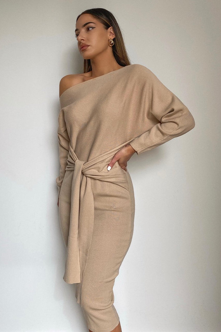 Kendra Dress - Sand