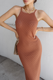 Dream Catcher Dress - Mocha