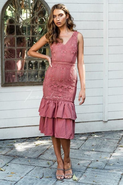 Izzy Dress - Mauve - SHOPJAUS - JAUS