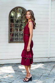 Izzy Dress - Red - SHOPJAUS - JAUS