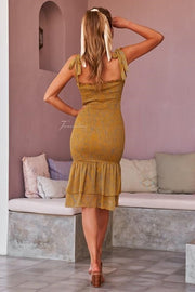 Jessie Dress - Yellow - SHOPJAUS - JAUS
