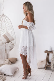 Karlie Dress - White (PREORDER) - SHOPJAUS - JAUS
