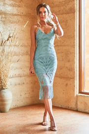 Khaleesi Dress - Sage - SHOPJAUS - JAUS