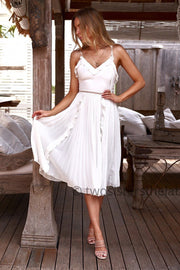 Maia Dress - White - SHOPJAUS - JAUS
