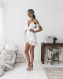 Marin Dress - White - SHOPJAUS - JAUS