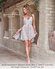 Mendoza Dress - White - SHOPJAUS - JAUS