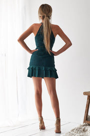 Mika Dress - Emerald Green - SHOPJAUS - JAUS