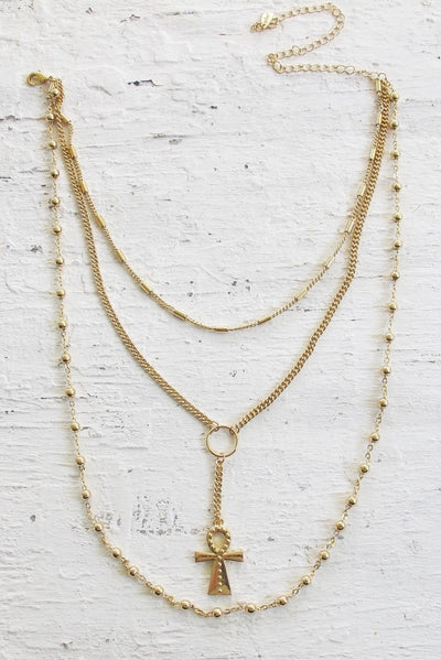 Forever Necklace - Gold - SHOPJAUS - JAUS