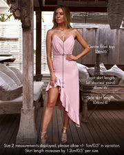 Morgan Dress - Light Pink - SHOPJAUS - JAUS