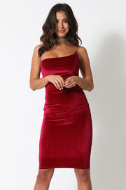 Nicola Dress - Magenta - SHOPJAUS - JAUS
