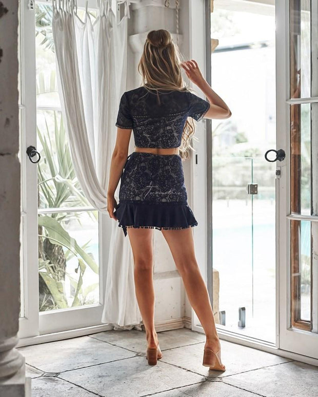 Nicola Set - Navy - SHOPJAUS - JAUS